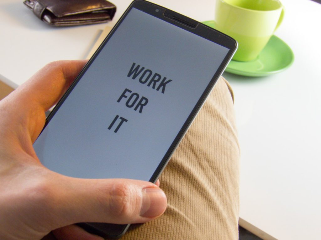 Work for it mobile
